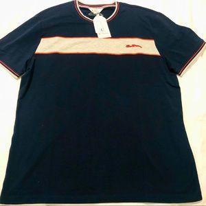 Ben Sherman mod style navy T-shirt sz XL NWT